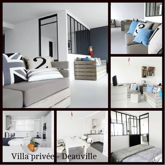 Villa privee deauville